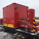 Frac Water Heaters