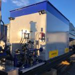 60 Million BTU Skid Mounted Frac Heating Unit